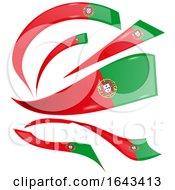 Portuguese Flag Ribbons