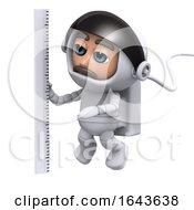 3d Astronaut Measures