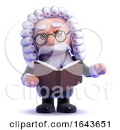 3d Judge Reads From A Book