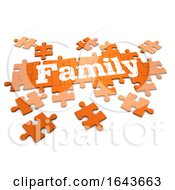 Poster, Art Print Of 3d Family Jigsaw Puzzleq