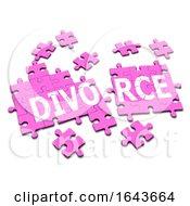 Poster, Art Print Of 3d Jigsaw Divorce