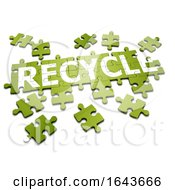3d Recycle Jigsaw by Steve Young
