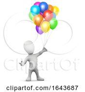 3d Little Man Balloons