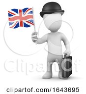 3d British Businessman
