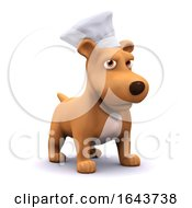 3d Chef Puppy by Steve Young