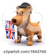 3d British Puppy by Steve Young