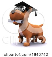 3d Graduate Puppy by Steve Young