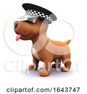 3d Officer Puppy