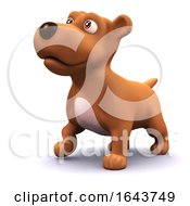 3d Cute Puppy Dog by Steve Young