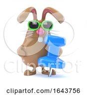 Poster, Art Print Of 3d Bunny Pin