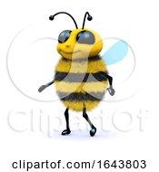 3d Honey Bee Walking