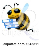 3d Bee Does Some Filing