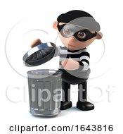 3d Burglar Goes Through Your Trash