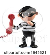 3d Burglar Answers The Phone by Steve Young