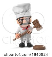 3d Friendly Pizza Chef Holds An Auction by Steve Young