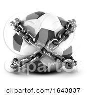 3d Chained Football