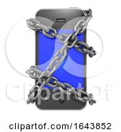 3d Chained Smartphone