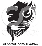 Black And White Panther Tattoo Design