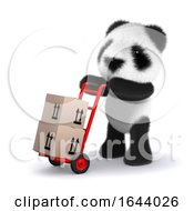 3d Courier Panda by Steve Young