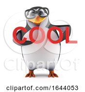 3d Academic Penguin Is Cool by Steve Young