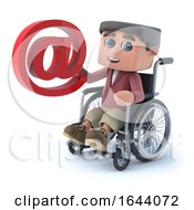 3d Boy In Wheelchair Has An Email Address by Steve Young