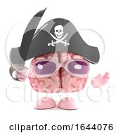 3d Brain Pirate