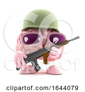 3d Army Brain by Steve Young