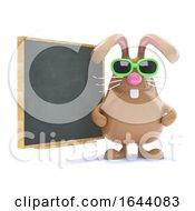 3d Easter Bunny Teaches The Class