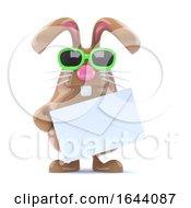 3d Bunny Letter