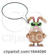 3d Bunny Speaks