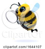 3d Bee Magnifies