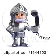 3d Knight In Armour Answers The Phone by Steve Young