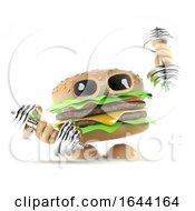 3d Burger Dumbells by Steve Young