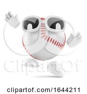 3d Baseball Catcher by Steve Young