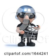 3d Old Biker Makes A Movie by Steve Young