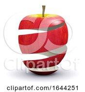 3d Apple Peel
