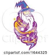 Wizard Tornado Mascot