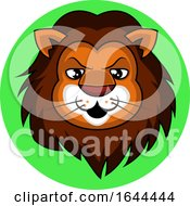 Cartoon Male Lion Face Avatar by Morphart Creations
