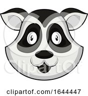 Cartoon Panda Face Avatar