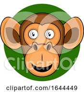 Cartoon Monkey Face Avatar by Morphart Creations