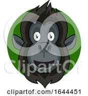 Cartoon Gorilla Face Avatar by Morphart Creations