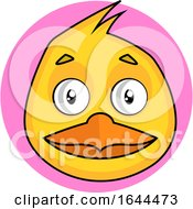 Poster, Art Print Of Cartoon Bird Face Avatar