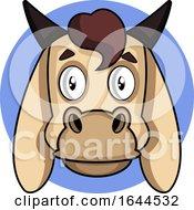 Cartoon Goat Face Avatar