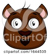 Cartoon Bear Face Avatar by Morphart Creations
