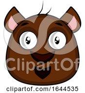 Cartoon Bear Face Avatar by Morphart Creations