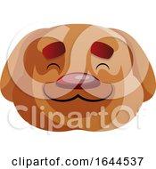 Happy Dog Face Avatar
