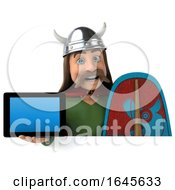 3d Gaul Warrior On A White Background by Julos