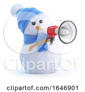 3d Loud Snowman by Steve Young