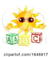 3d Sun Learns The Alphabet