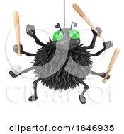 3d Baseball Spider